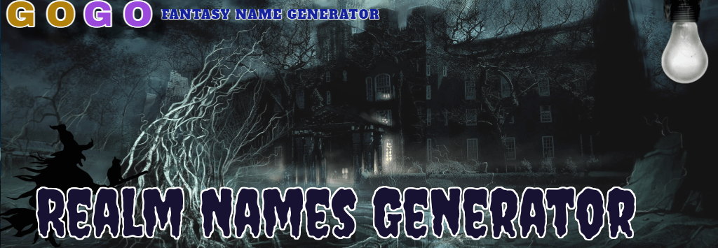 Realm Names Generator - GogoText