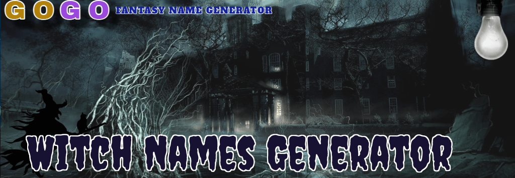Witch Names Generator - GogoText